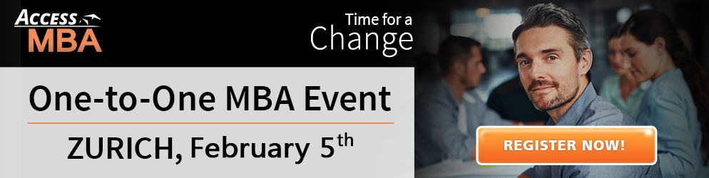 One to One MBA Event Zurich FEB 2018