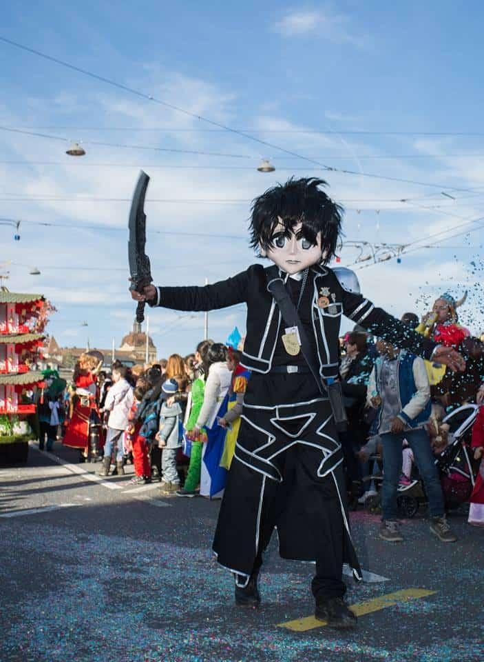 Carneval parade Switzerland