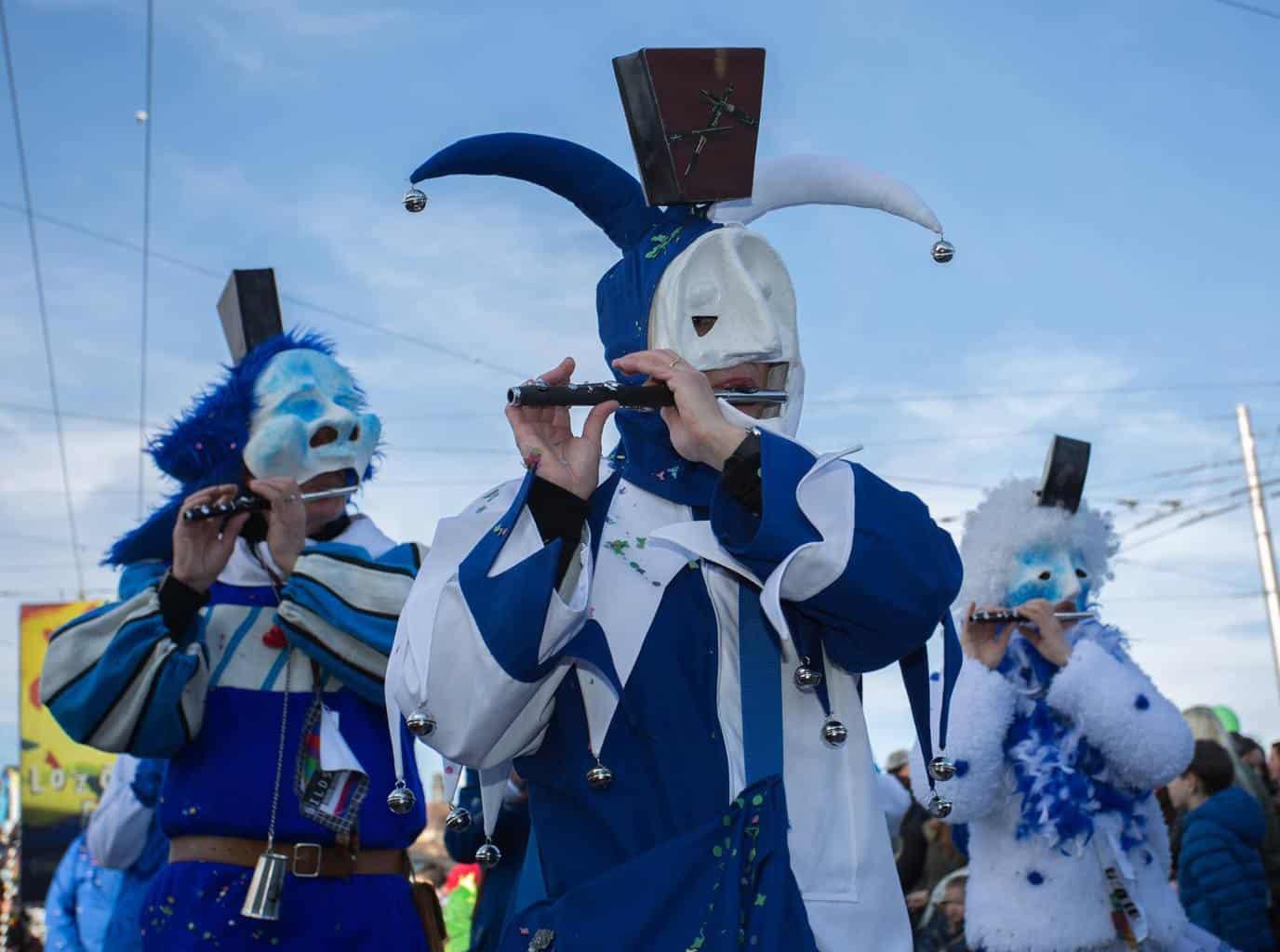 Carneval parades Switzerland