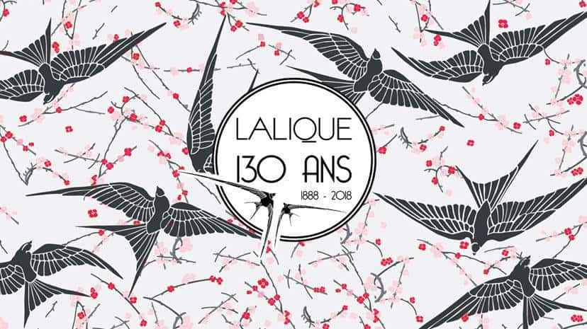 Lalique Celebrates 130 Years 1888 - 2018