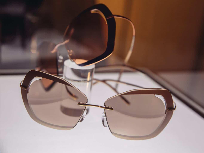Johanna Perret and Tutia Schaad for Silhouette sunglasses