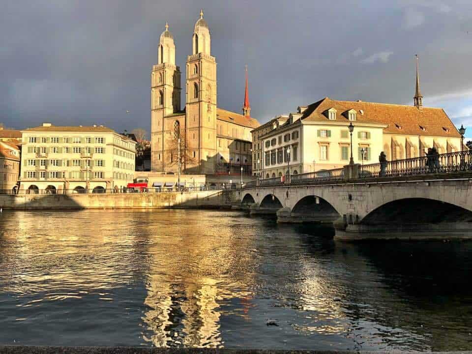 Celebrating Valentinstag in Zurich
