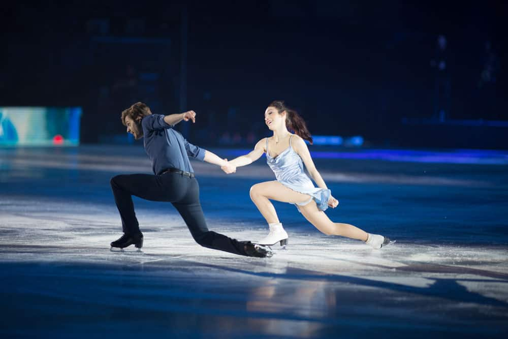 Meryl Davis and Charlie White at Art On Ice Lausanne 2018