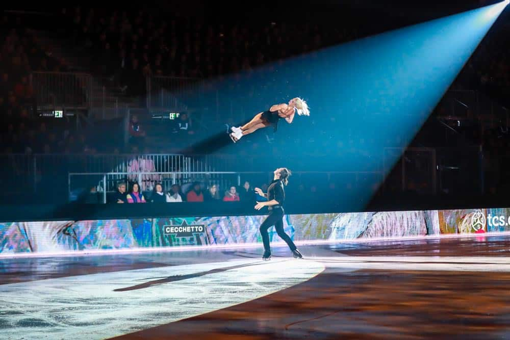 Tatiana Volosozhar and Maxim Trankov Art On Ice Lausanne