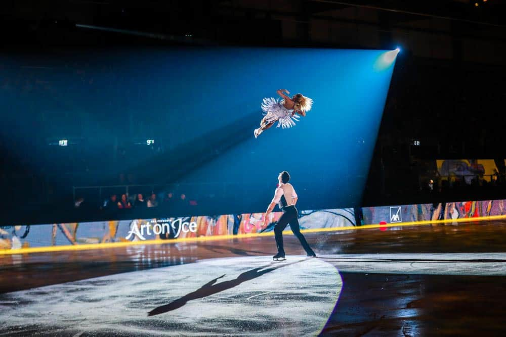 Aljona Savchenko and Bruno Massot Art On Ice Lausanne