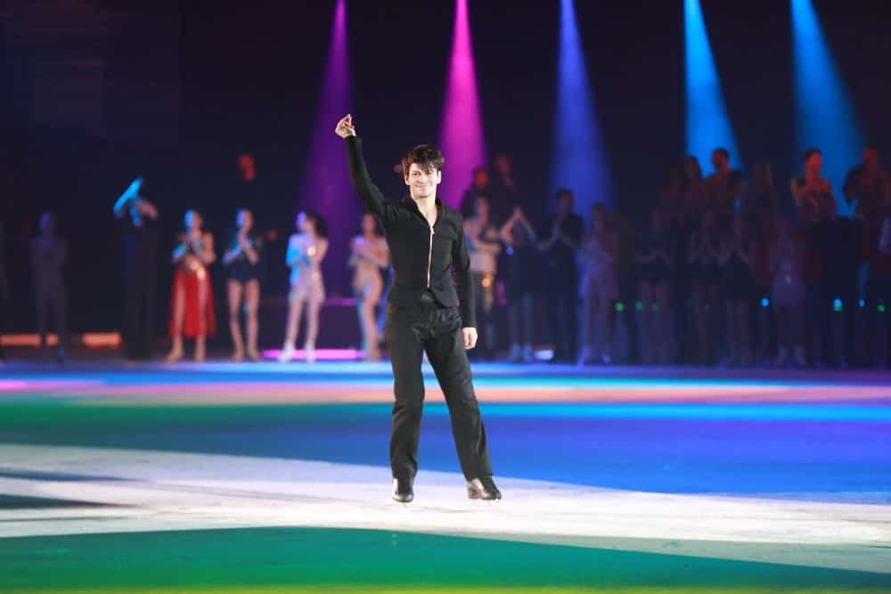 Stephane Lambiel at Art on Ice Lausanne 2018