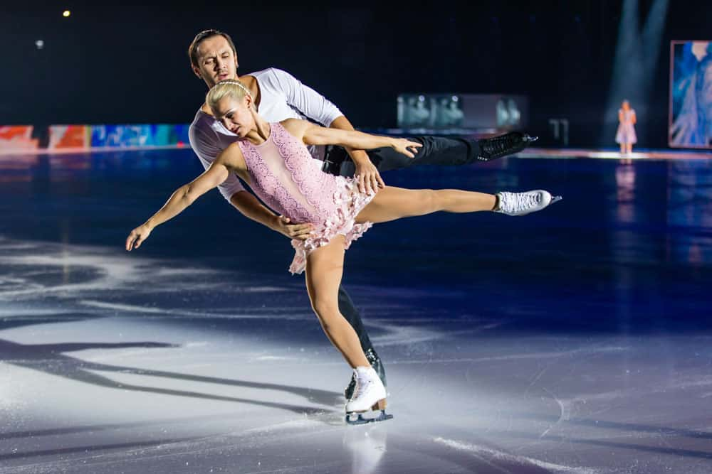 Tatiana Volosozhar and Maxim Trankov Art On Ice Lausanne 2018