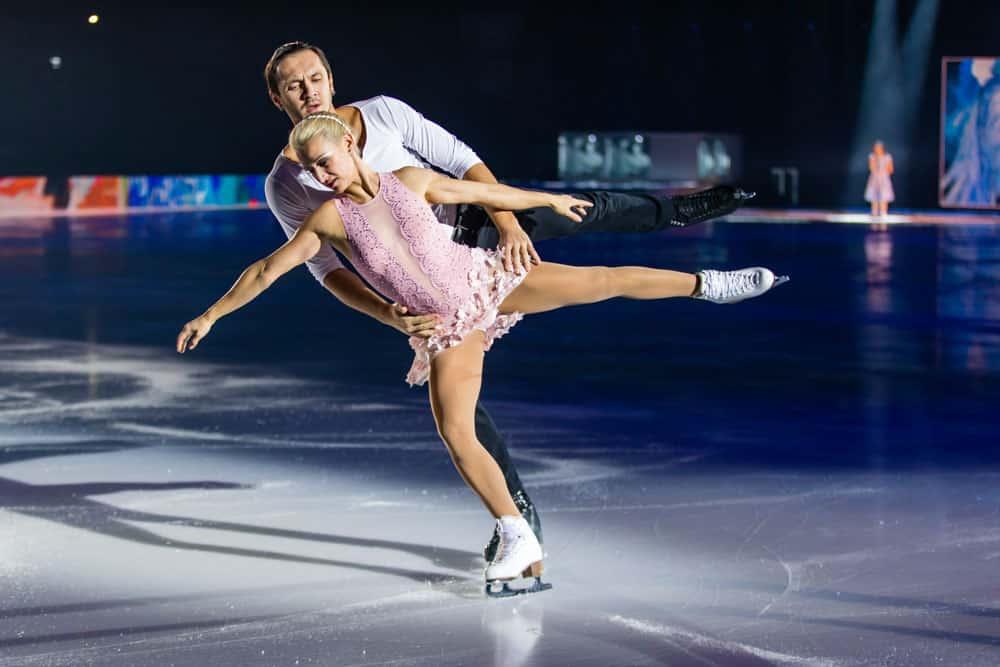 Tatiana Volosozhar and Maxim Trankov Art On Ice Lausanne 2018