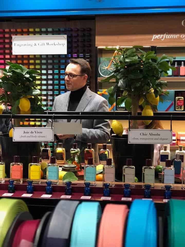 Christophe Cervasel and Atelier Cologne in Zurich