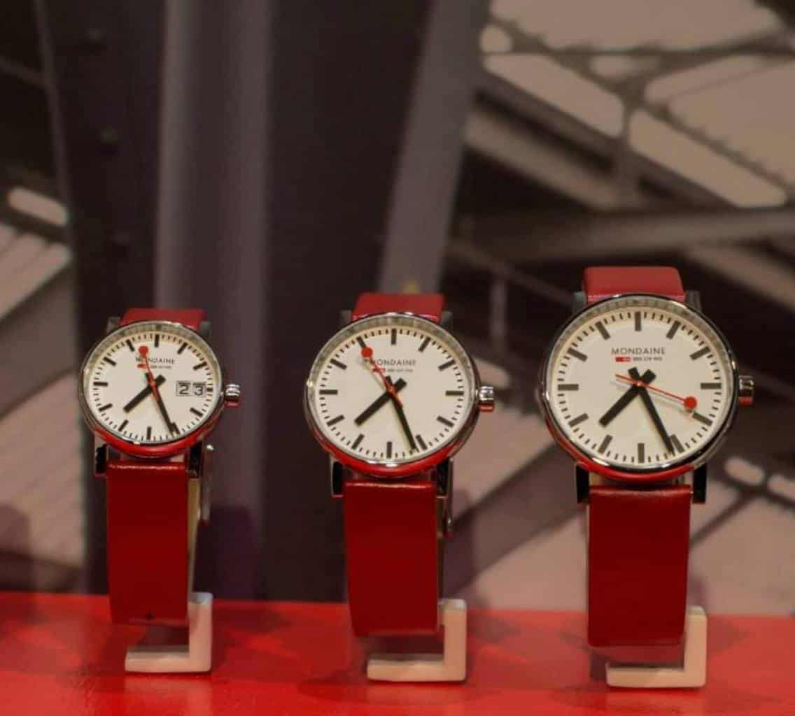 Mondaine watches at Basel World