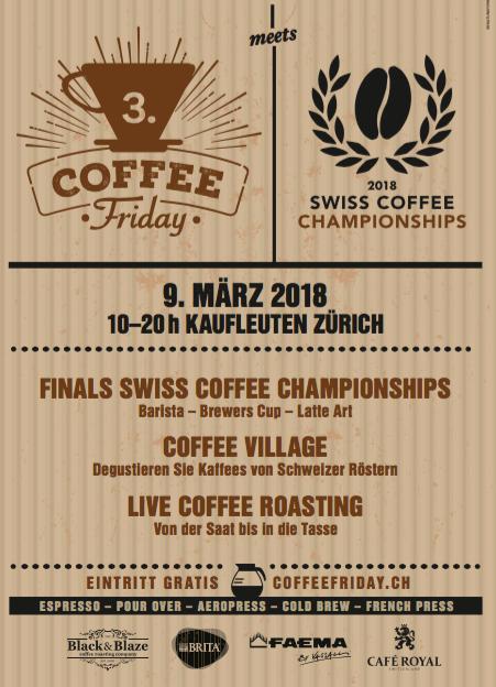 Coffee Friday 3rd Coffee Festival Kaufleuten Zurich