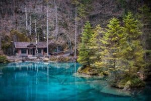 Hidden Gems .... the Blausee Switzerland