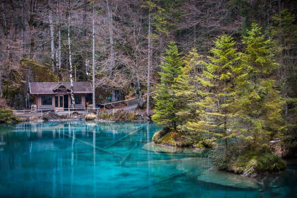 Hidden Gems .... the Blausee Switzerland