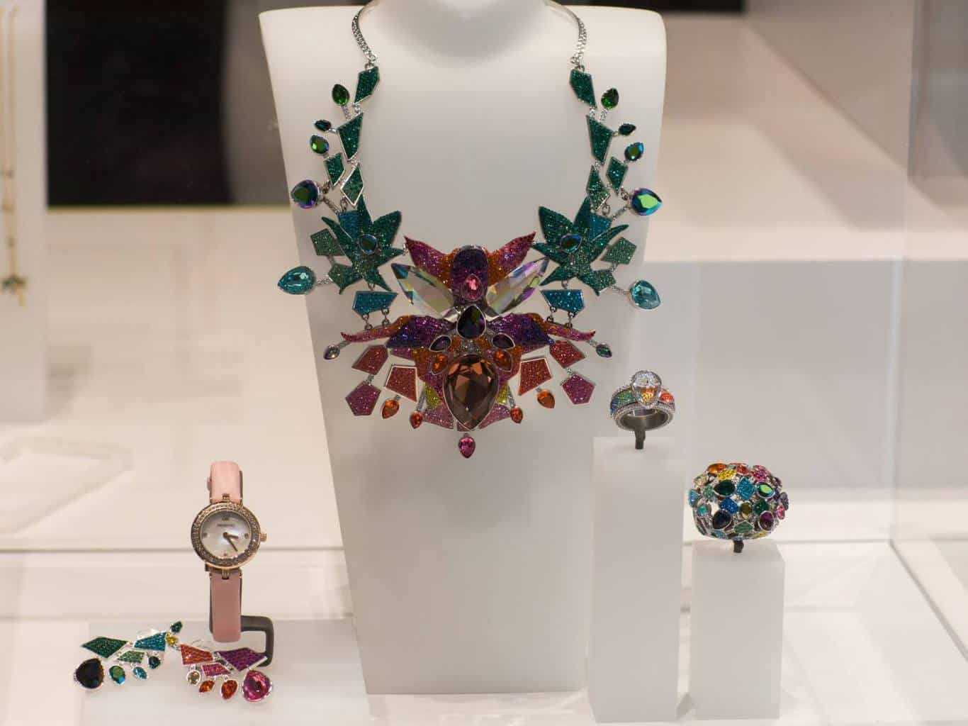 Swarovski jewellery at Basel World 2018
