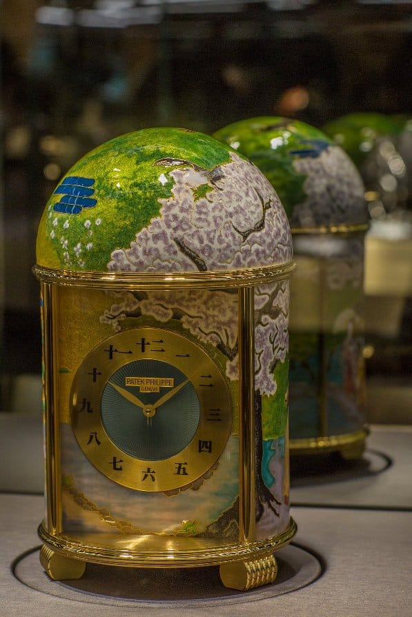 Patek Philippe dome clocks at Basel World 2018
