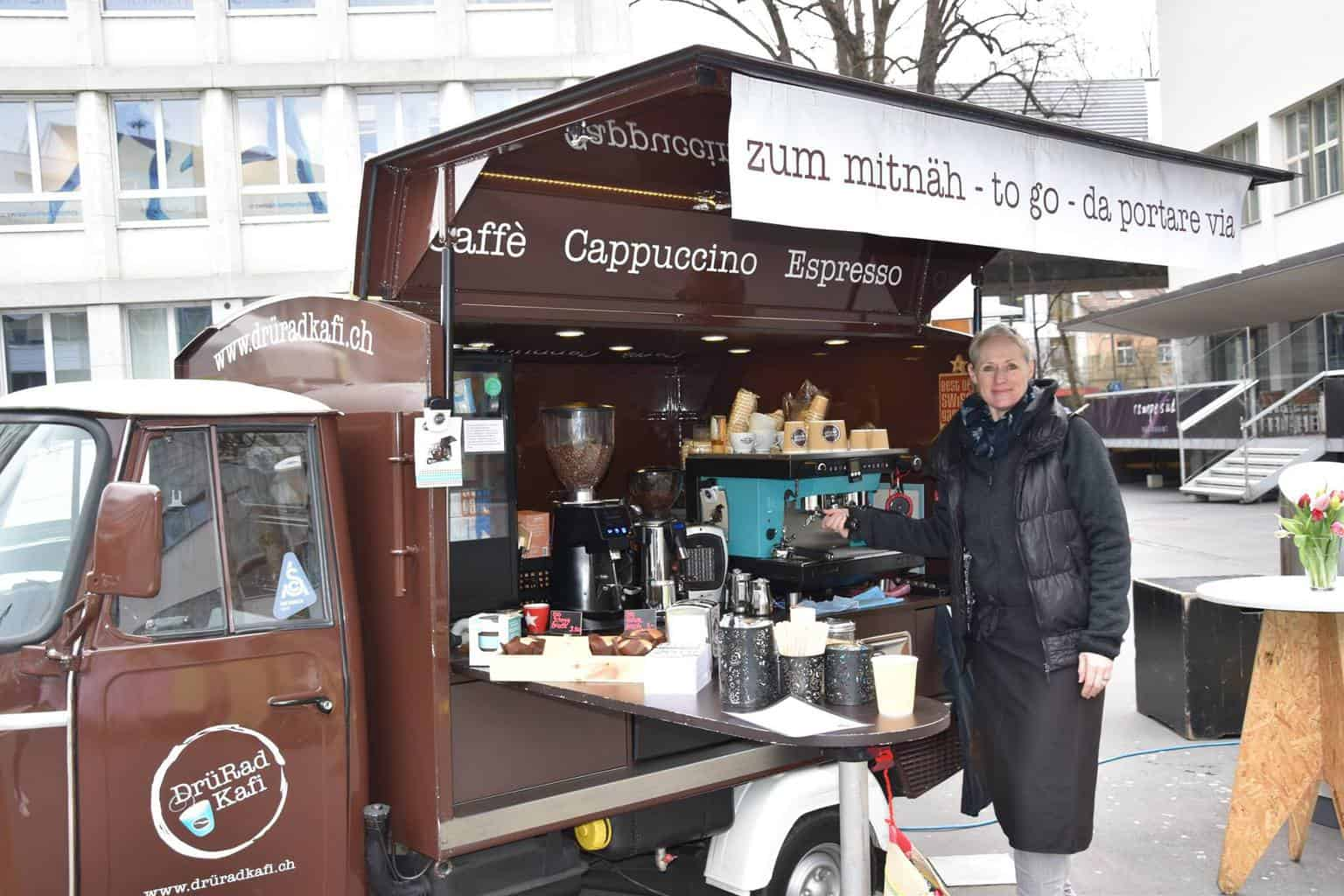 Sihl City Market in Zurich Every Thursday