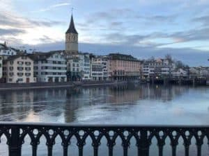 Zurich in March 2018