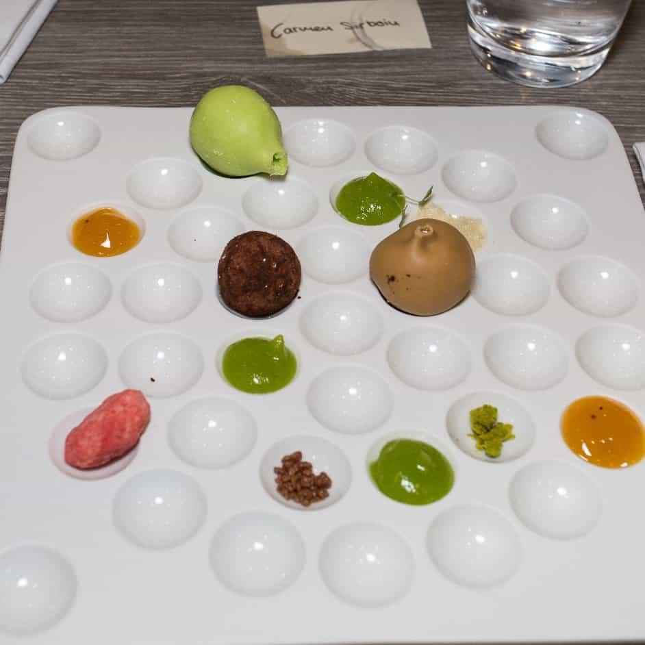 Molecular Cuisine at Art Deco Hotel Montana Lucerne