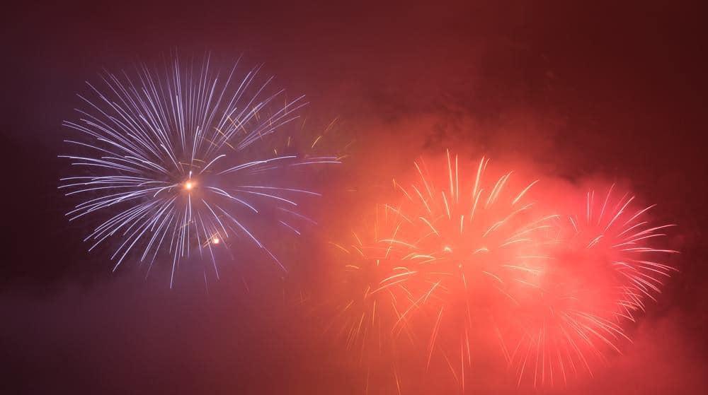 Photo Highlights of Oensingen Firework Display 2018