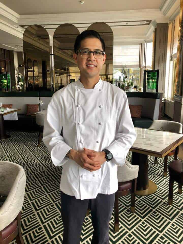 Ben Dayag Executive Chef NIKKEI NINE Hamburg