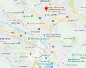 Google Map of Stage One Oerlikon Zurich
