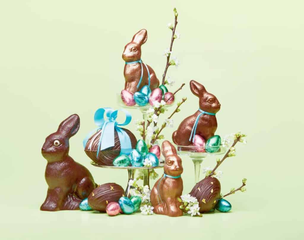 Tour of Confiserie Honold Easter Bunnies