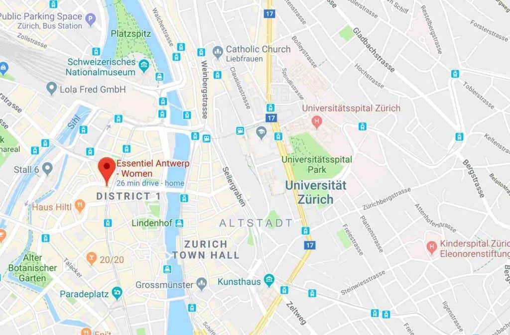 Essentiel Antwerp Bahnhofstrasse 73 Zurich