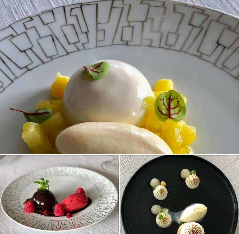 Nikkei Nine desserts at Montreux Palace Hotel