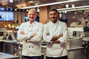 Chefs Rafa Martinez and Johan Breedijk