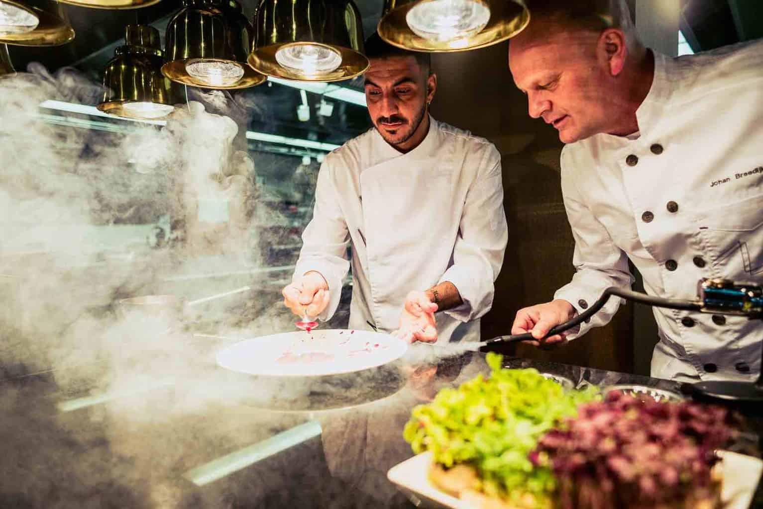 Kitchen Club Chefs Rafa Martinez andJohan Breedijk