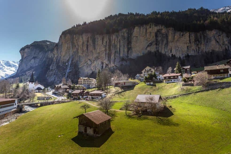 Stunning Swiss Scenes on A Day Trip to Lauterbrunnen