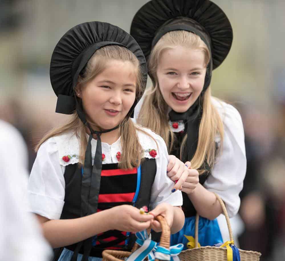 Children's Parade Sechselaeuten Zurich