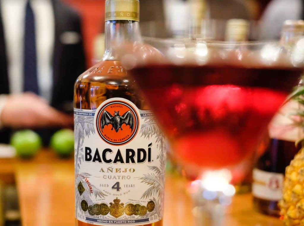 BACARDI Cuatro Launch at Zurich's Simplon Bar