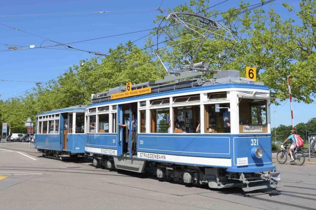 Zurich Oldtimer tram