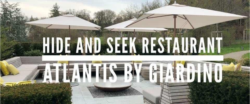 Hide and Seek Restaurant at the Atlantis By Giardino
