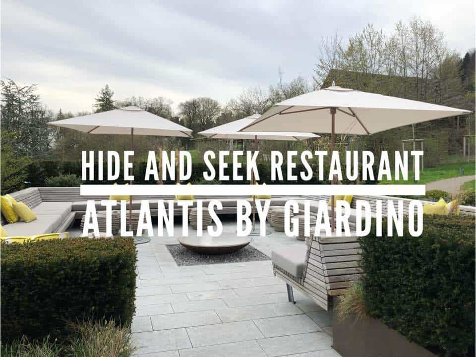 Hide and Seek Restaurant at the Atlantis By Giardino