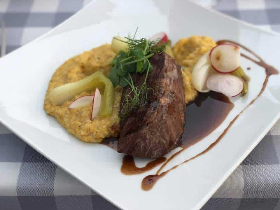 Dinner at Hotel Restaurant Wassberg Forch