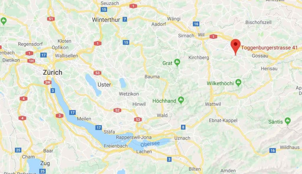 google Maps Maestrani Chocolate Factory Flawil Switzerland