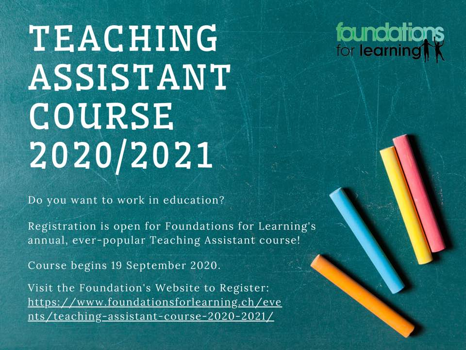 Train as a Teaching Assistant in Zurich