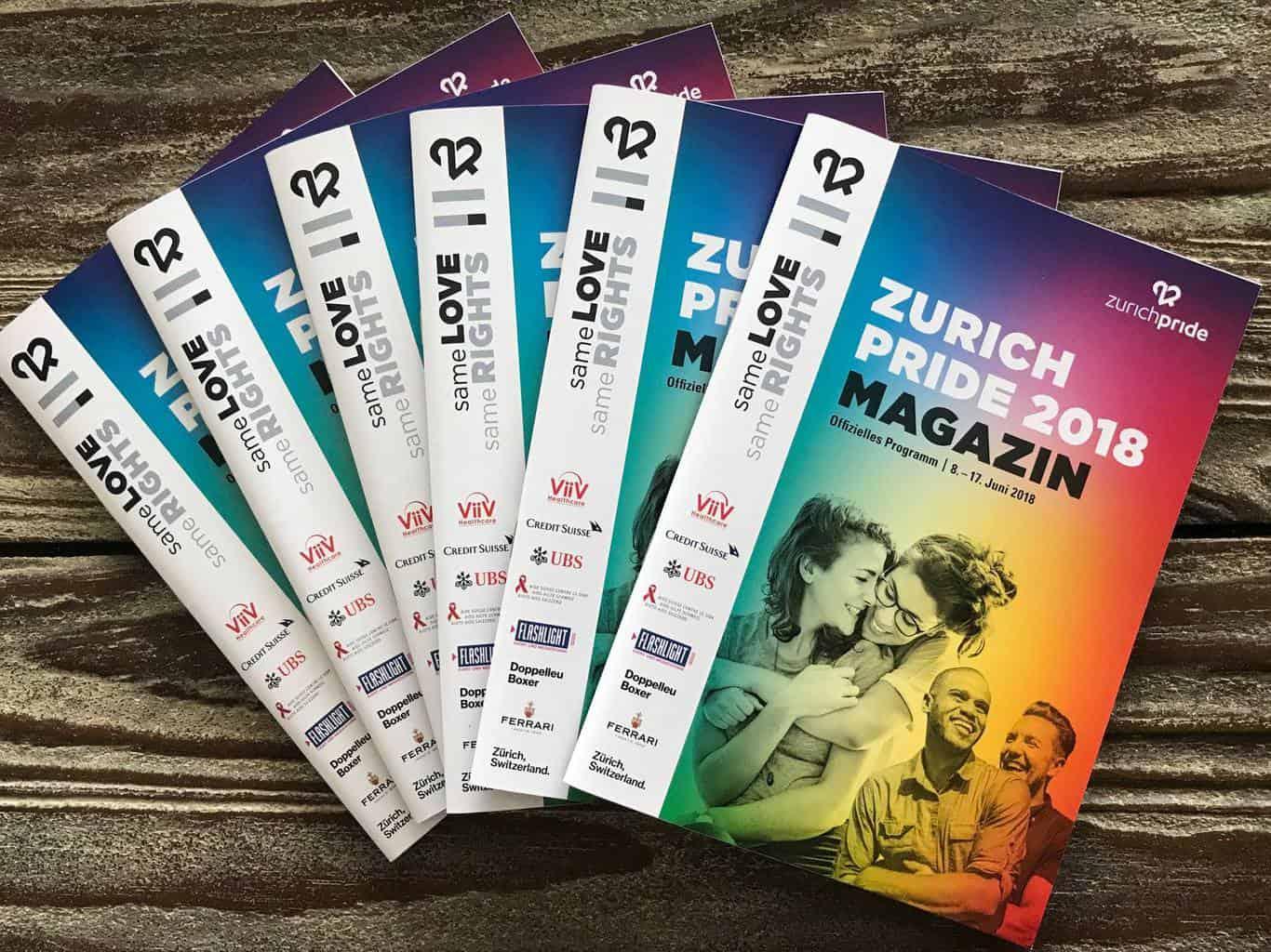 Zurich Pride Magazine