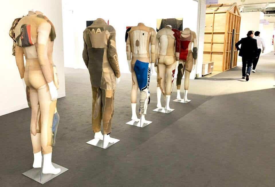 Sculptures at Art Basel 2018