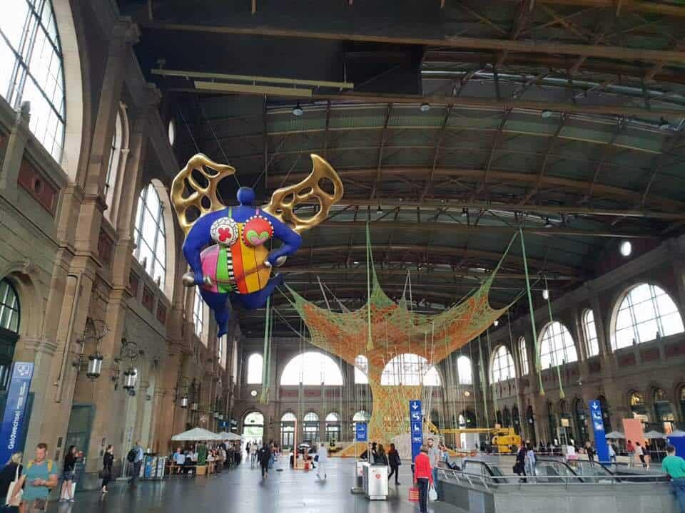 Ernesto Neto GaiaMotherTree Exhibition Zurich HB