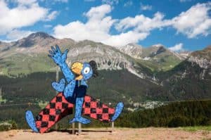 Globi Hiking Trail in Lenzerheide For Kids
