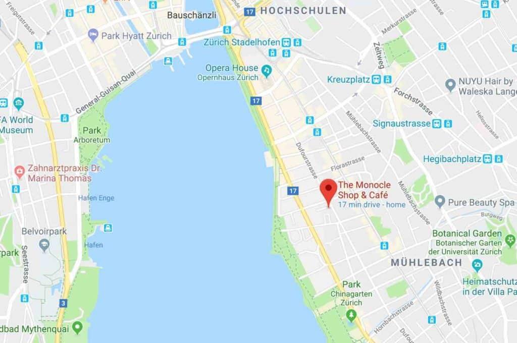 Monocole Cafe Zurich