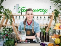 Tanqueray Lovage Cocktails on the Rooftops of Gustav