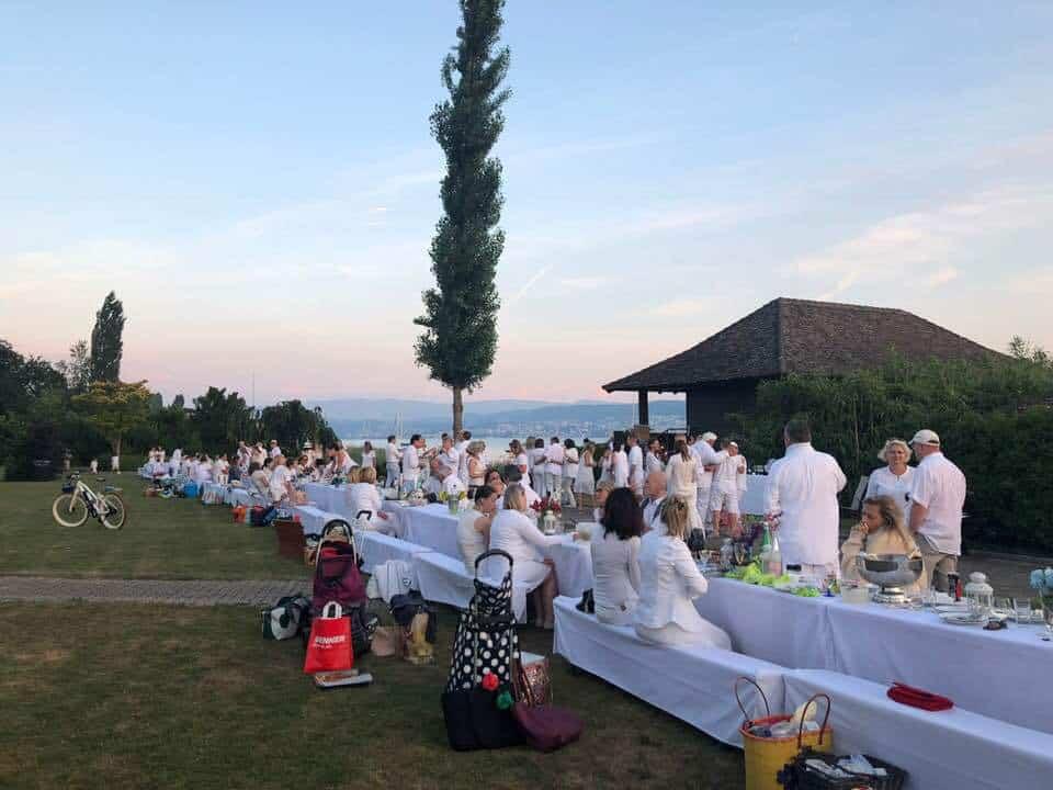 White Dinner Küsnacht 2018
