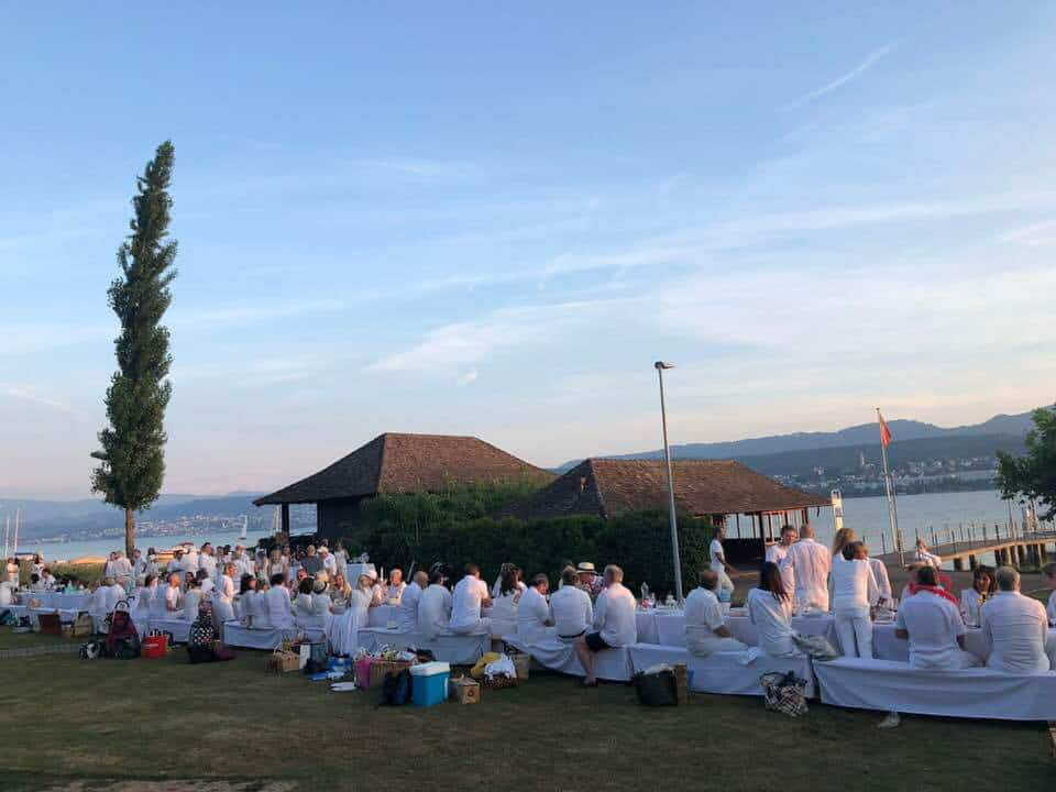 White Dinner Küsnacht 2018