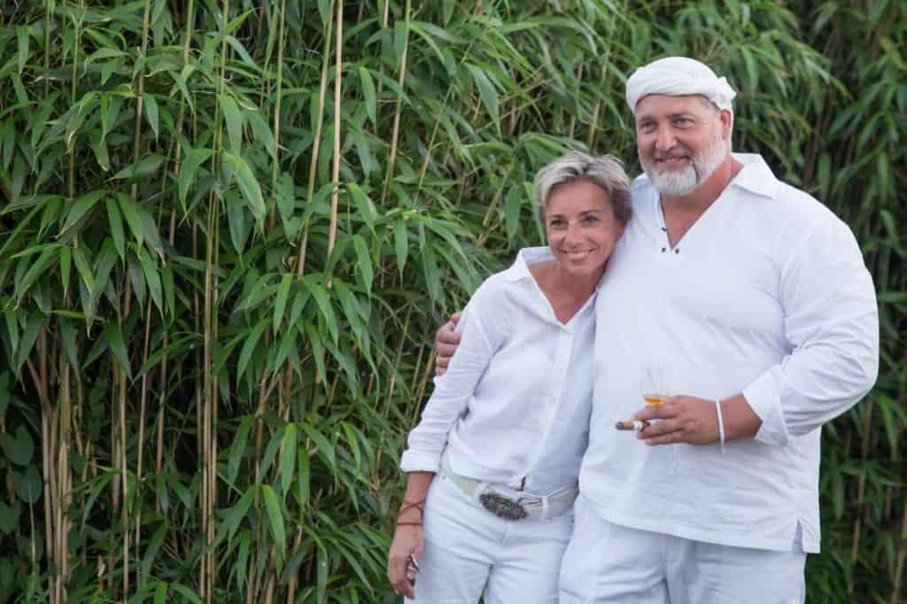 Sabine Lonsert and Arnold Reithaar