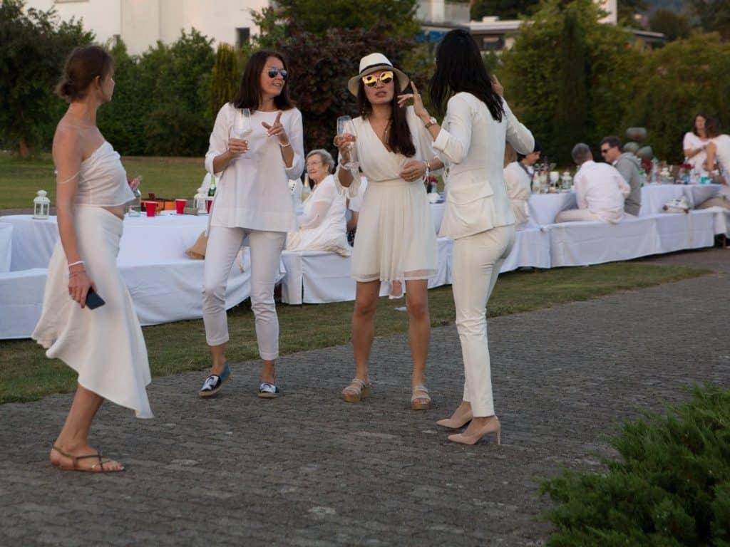 White Dinners Zurich
