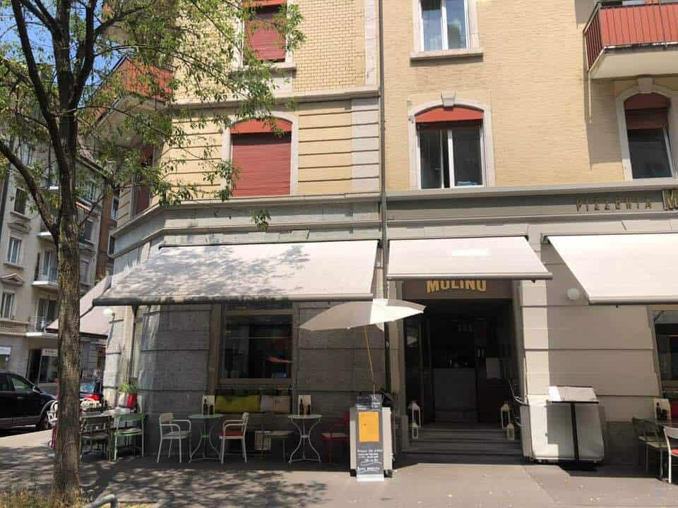 Molino Pizza Restaurant Gasometerstrasse Zurich